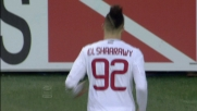 El Shaarawy ringrazia Gillet e segna il goal del 4 a 1 al Torino