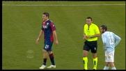Bocchetti espulso per fallo da ultimo uomo in Lazio-Genoa