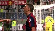 Crespo finalizza in rete il contropiede di Palacio: Genoa avanti 3-1 a Marassi