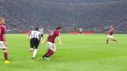 I dribbling di Pogba preoccupano la difesa del Milan a San Siro