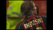 Il goal di testa di Ambrosini regala il successo al Milan