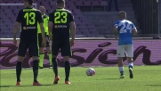 Insigne segna su rigore il goal del 2-0 in Napoli-Verona