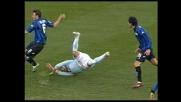 Pellegrino colpisce Bianchi in area: rigore per la Lazio