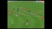 Bierhoff segna un goal al Cagliari con un destro imparabile