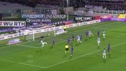 Strepitoso goal vittoria di Cana contro la Fiorentina al Franchi