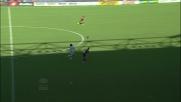 La velocità di Cuadrado costringe Izzo al fallo: rosso per il difensore del Genoa