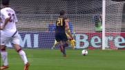 Bardi con prontezza risponde al destro a incrociare di Juan Gomez
