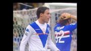 Mannini anticipa Falcone, per l'arbitro è rigore