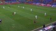 Cerci simula il fallo ma l'arbitro non si accorge e concede la punizione al Genoa