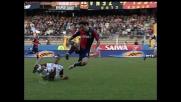 Costa atterra Biava in tackle e lascia in inferiorità numerica la Reggina
