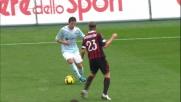 Zarate salta secco Ambrosini, grande giocata in Lazio-Milan