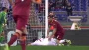 Di testa Osvaldo sigla il goal del raddoppio contro il Milan