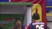 Ramirez sventa il pressing del Genoa con un sombrero elegante