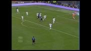 Il goal di Adriano chiude sul 3-0 la sfida tra Inter e Treviso