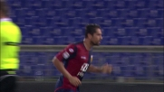 Borriello zittisce l'Olimpico con un goal in contropiede