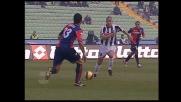 Inler steso in area da Santos: rigore per l'Udinese