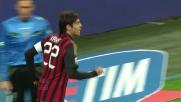 Il goal di Kakà porta in vantaggio il Milan col Chievo a San Siro