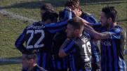 Biava segna un goal di testa e regala il momentaneo vantaggio all'Atalanta