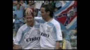 Simeone schiaccia di testa, goal della Lazio