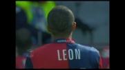 Sinistro velenoso di Leon, ma il palo grazia il Torino!