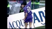 Il goal di Toni ribalta il risultato e porta in vantaggio la Fiorentina sull'Ascoli