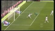 Zaccardo respinge il tiro di Larrivey e nega il goal al Cagliari!