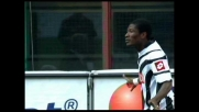 Asamoah sblocca Milan-Udinese con un goal di testa: friulani avanti a San Siro