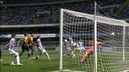 Gomez incorna e segna il goal del pareggio contro il Chievo