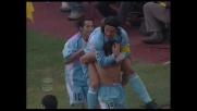 Pandev di rapina segna il goal che sblocca il risultato tra Lazio e Cagliari