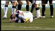Bianco abbatte Sanchez e viene espulso in Atalanta-Udinese