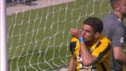 Bianchetti realizza il goal dell'1-1 in Verona-Frosinone
