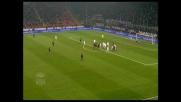 Il gran destro di Brocchi si trasforma in goal e il Milan torna in parità con la Roma