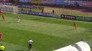 Al Franchi di Siena Handanovic respinge il tiro ravvicinato di Brienza