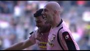 Goal da tre punti di Bovo per il Palermo contro l'Udinese