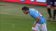 Lavezzi accorcia le distanze segnando il goal del 3-2 e spaventando il Genoa