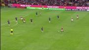Pazzini manca la deviazione vincente per un soffio nel derby con l'Inter