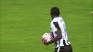Duvan Zapata segna la rete del 2-3 e fa soffrire il Milan