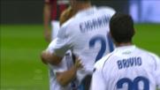 Il goal vittoria dell' Atalanta a San Siro porta la firma di Cigarini