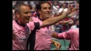 Toni porta in vantaggio il Palermo al Barbera