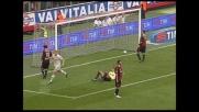 Roma in goal con il diagonale sinistro di Menez