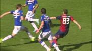 Cartellino rosso a Costa nel derby di Genova