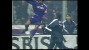 Con un goal di rapina Batistuta segna la sua doppietta contro il Cagliari