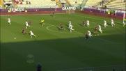 Izzo viene espulso per doppia ammonizione: Genoa in 10 contro il Carpi
