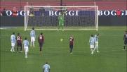 Candreva non sbaglia il rigore del vantaggio contro il Cagliari