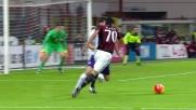 Bacca sblocca Milan-Fiorentina con un goal di destro preciso e potente sul secondo palo