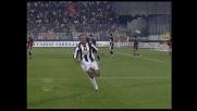 Inzuccata di Emerson! La Juventus segna il goal dell'1-0 a Cagliari