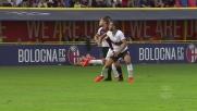 Gentiletti lascia il Genoa in dieci contro il Bologna
