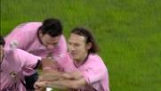 Barreto segna da fuori area il goal del vantaggio sulla Lazio