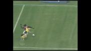 Kaladze prende il tempo a Ponzo, rigore per il Milan