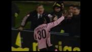 Simplicio chiude con un goal all'incrocio la sfida tra Palermo e Livorno